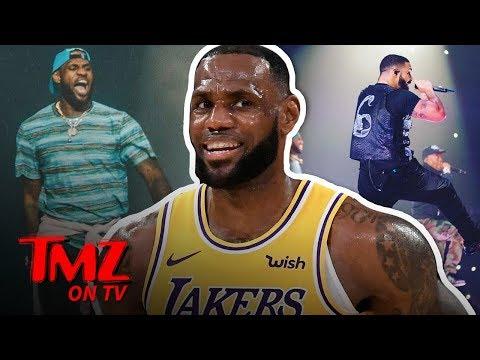 LeBron, Drake, & Travis Scott Go 'Sicko Mode' In L.A.! | TMZ TV