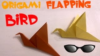 Diy Simple Origami Flapping Bird - Easy Tutorial - The Good Version