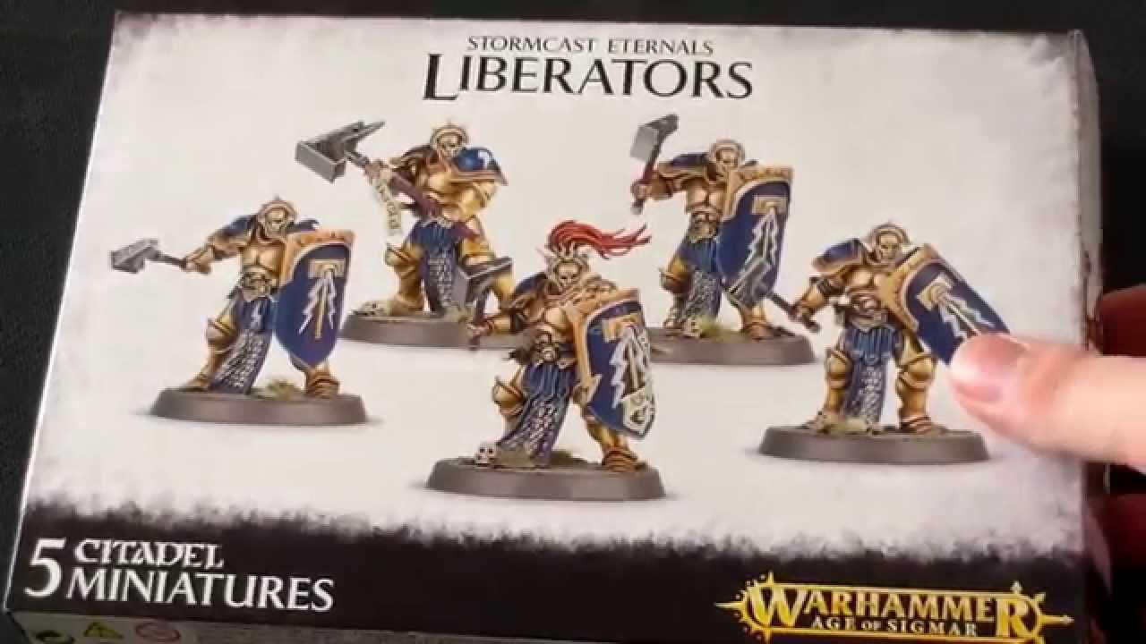 Age of Sigmar Stormcast Eternals Liberators Warhammer