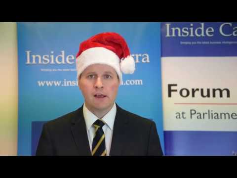 Inside Canberra Christmas message from Michael Keating, Editor-in-Chief