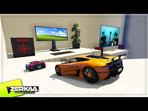 EPIC GAMING ROOM SETUP IN GTA 5! (GTA 5)