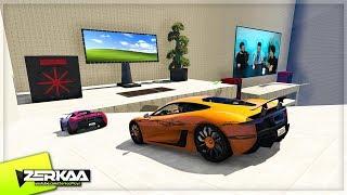 EPIC GAMING ROOM SETUP IN GTA 5! (GTA 5)