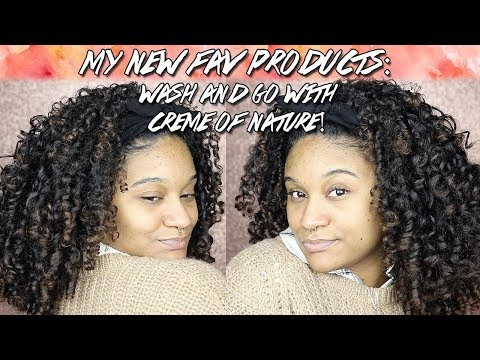 Wash and Go Natural Hair | New Creme of Nature Coconut Milk Line