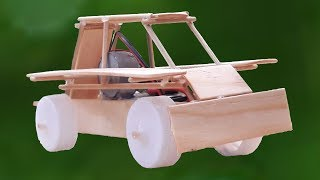 How to make an ice cream wooden car for kid
