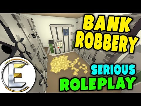 Unturned - BANK ROBBERY | We plan a heist on the big city bank ( Serious RP )