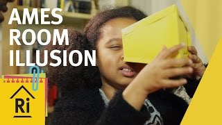 How To Make An Ames Room Illusion - Psychology for Kids - ExpeRimental #23