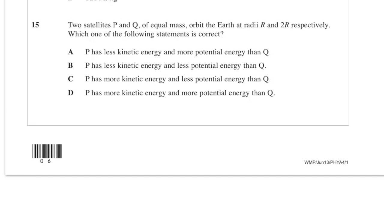 thursday 23 may 2013 physics mark scheme
