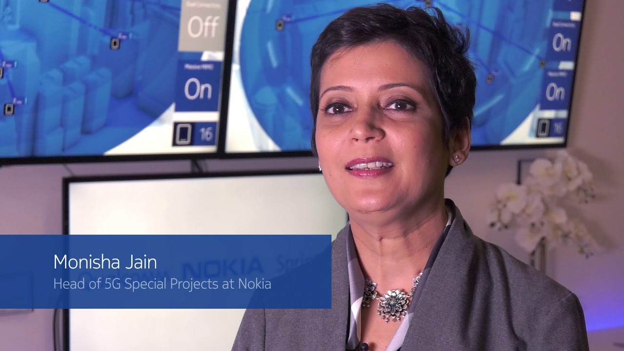First 5G call with 2.5GHz and mMIMO - Sprint, Qualcomm and Nokia