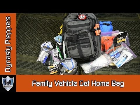 Family Vehicle Get Home Bag - Dynasty Preppers