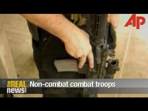 Non-combat combat troops