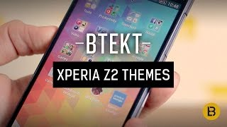 Sony Xperia Z2 themes, launchers and UI explained screenshot 1