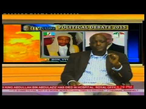 ITV/Radio Benin Commence 2015 Political Debate