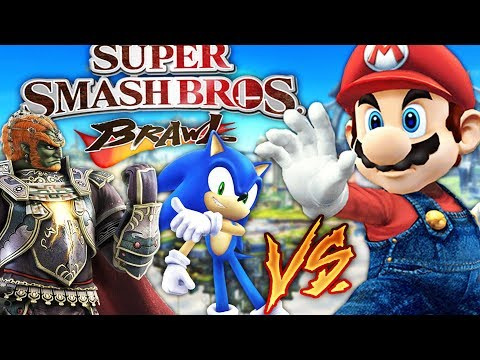 ANDREW VS AUSTIN VS ALEXACE! WHO WILL WIN!? SUPER SMASH BROS BRAWL!