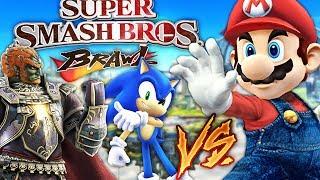 ANDREW VS AUSTIN VS ALEXACE! WHO WILL WIN!? SUPER SMASH BROS BRAWL!