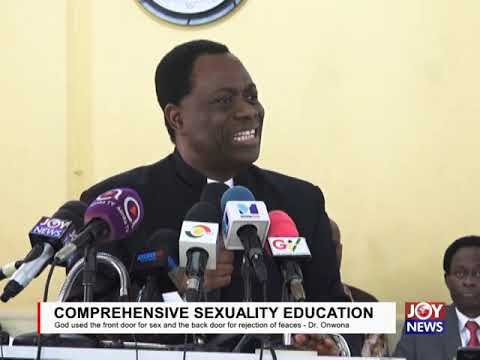 CSE: God Used The Front Door For Sex And The Back Door For Rejection Of Feaces - Dr. Onwona