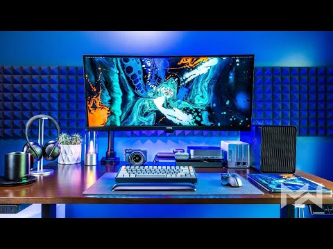 My Ultimate DREAM Desk Setup Work From Home Office Tour