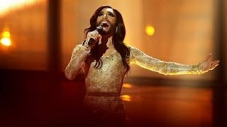 Repeat youtube video Conchita Wurst Eurovision Song Contest Winner 2014 Final Performance (Austria) LIVE