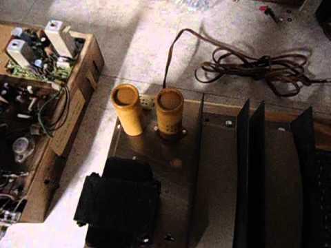 1966 Magnavox Astro-Sonic 100 Recap and Restoration - YouTube