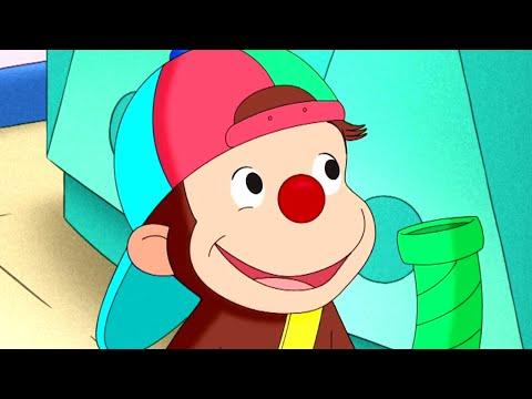 Curious George 🐵Curious George Clowns Around 🐵 Kids Cartoon 🐵 Kids Movies 🐵Videos for Kids