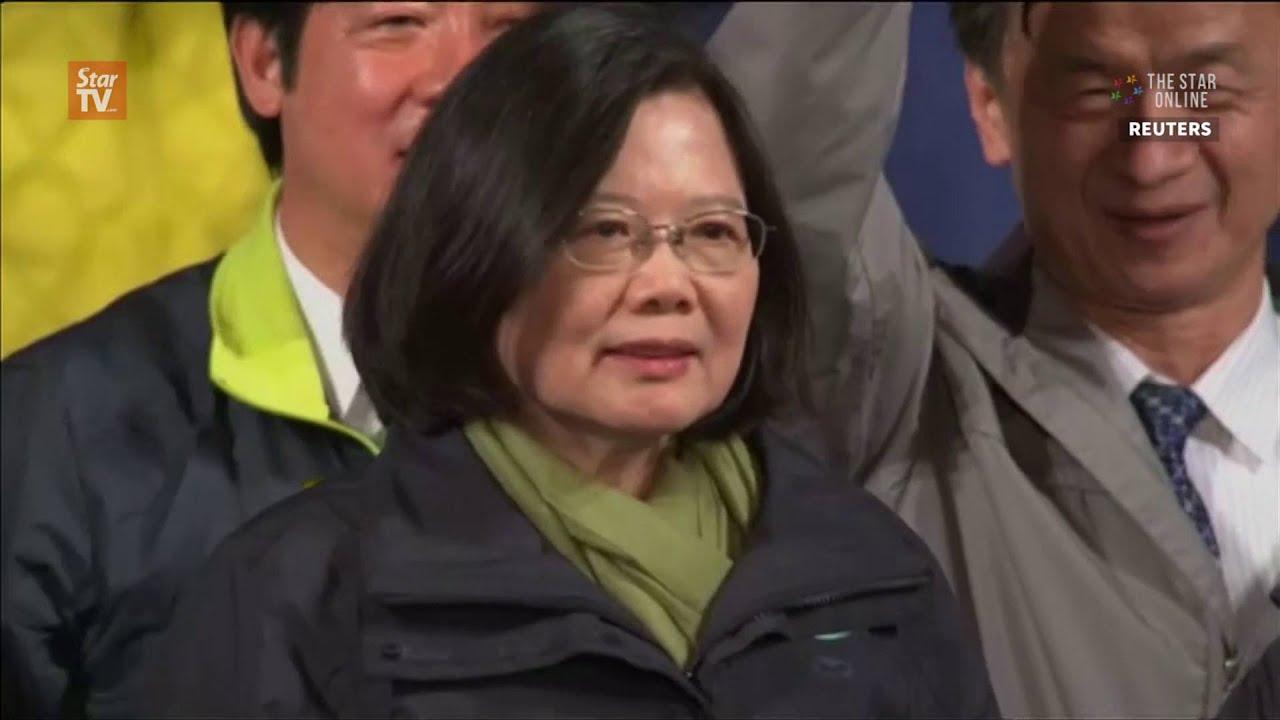 Tsai Ing-wen wins landslide in Taiwan election