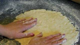 "How to Make Flakey Pie Crust from Scratch ""The Easy Way"" -2Crust Recipe"