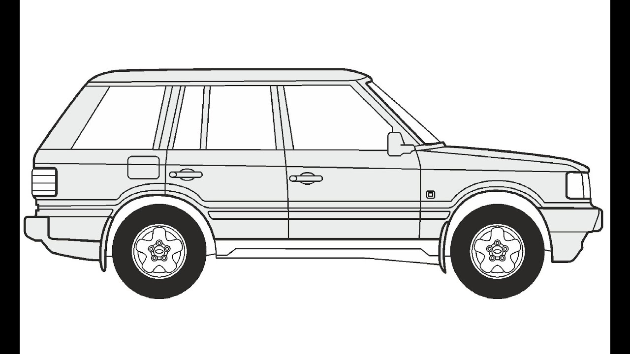 It's just a photo of Slobbery Range Rover Drawing