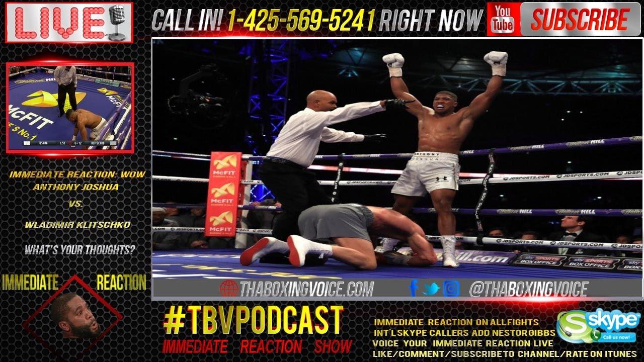 Live updates from Anthony Joshua vs. Wladimir Klitschko: Joshua wins it in the ...