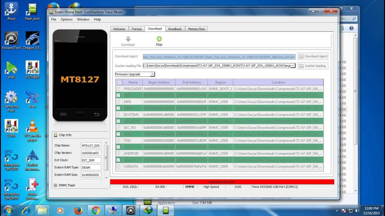 HOW TO FLASH LENOVO TAB-2 A7 10F LOLIPOP UPDATE