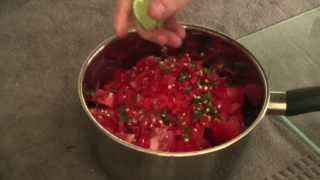 Homemade Spicy Salsa Dip Recipe