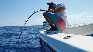 MAN Vs. Deep Sea GIANTS... Amberjack Fishing -( Key West, Florida)