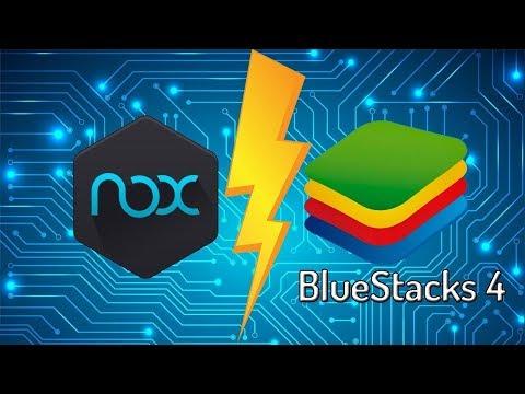Мобильные игры на ПК! NOX или BlueStacks 4 - что лучше?