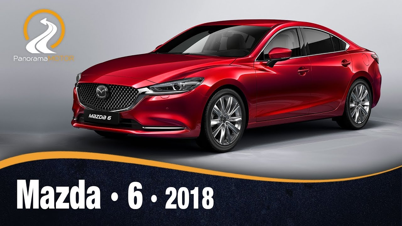 mazda 6 2018 prueba test an lisis review en. Black Bedroom Furniture Sets. Home Design Ideas