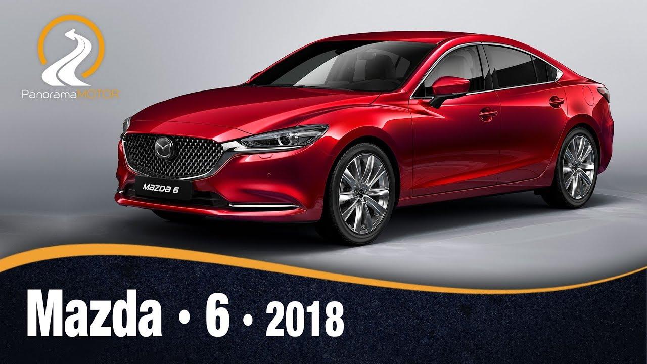 Nuevo Mazda 6 2018 >> Mazda 6 2018 Prueba Test Analisis Review En Espanol Youtube