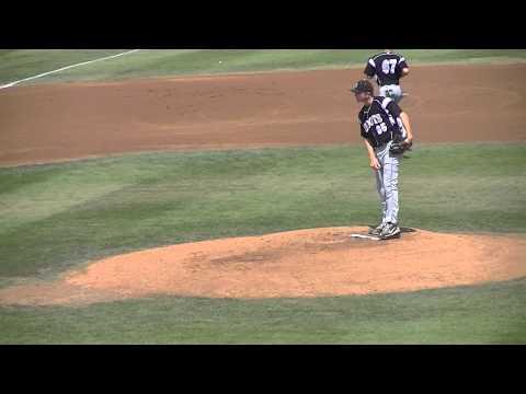 Clayton Taylor pitching Longbeach