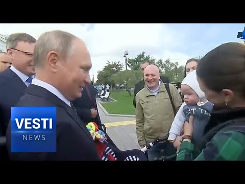 Putin Visits People of Omsk, Personally Promises to Intervene and Fix Local Environment Concerns