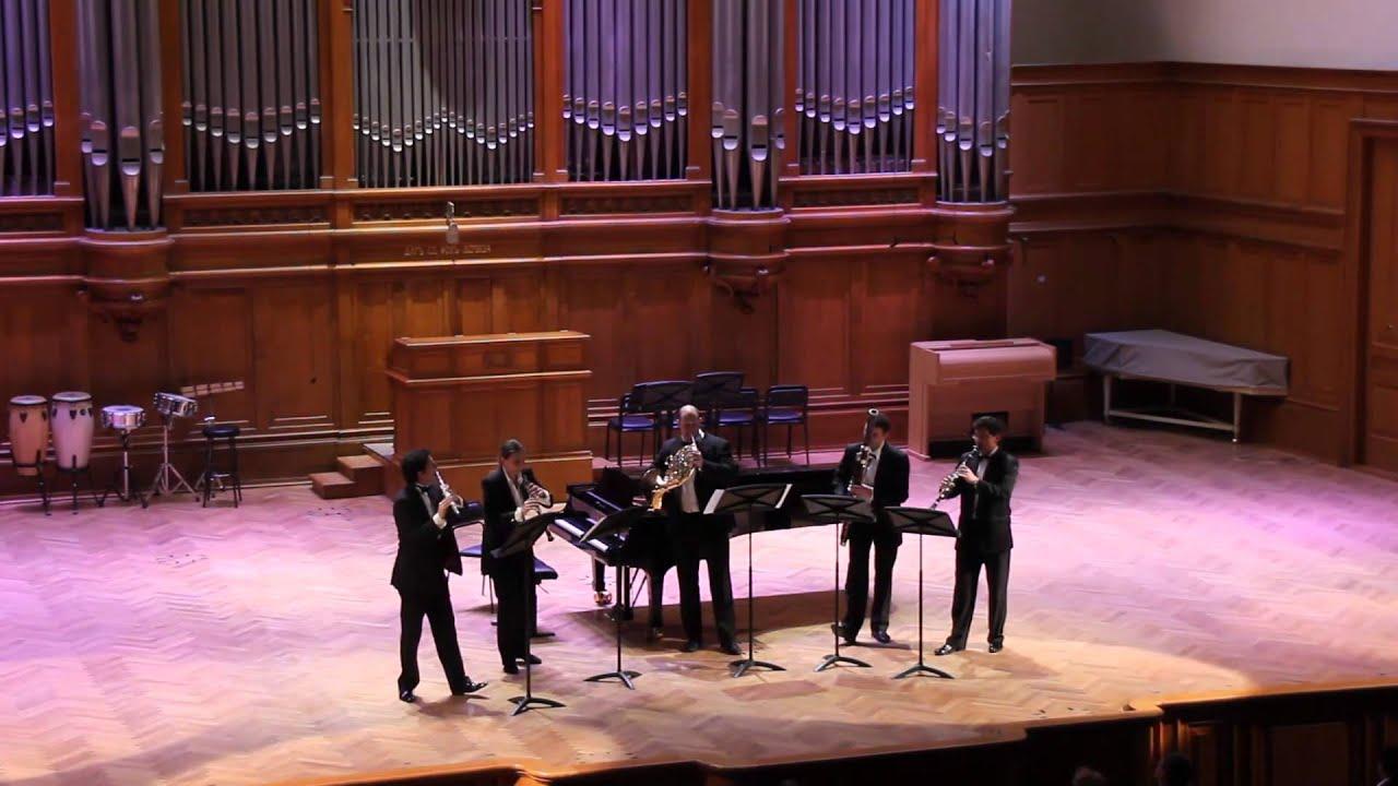 G.Briccialdi - Wind Quintet D-dur, op.124, Final (Бриччиальди - Квинтет ор.124)