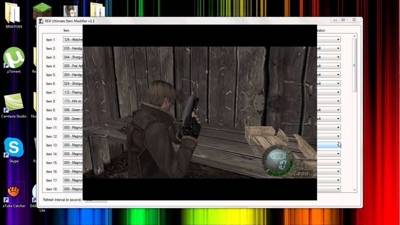 ULTIMATE TÉLÉCHARGER V1.1 RE4 ITEM MODIFIER