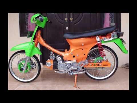Cah Gagah | Video Modifikasi Motor Honda Grand Chroom Keren Terbaru