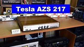 Tesla AZS 217 stereo amplifier - service required (No.4009)