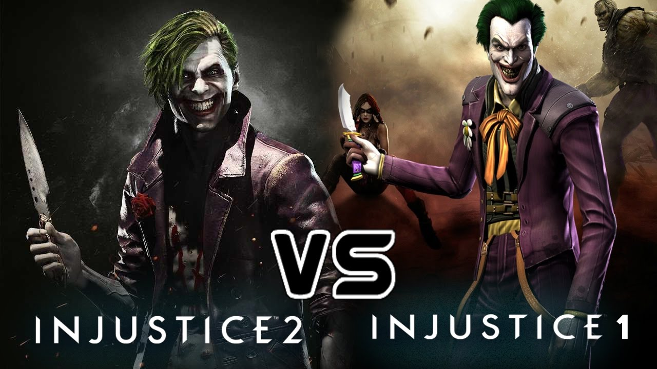 Girl Gaming In Space Live Wallpaper Injustice 2 Vs Injustice 1 Quot Supermoves Comparison