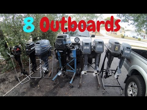 Can I Fix All These Outboard Engines?