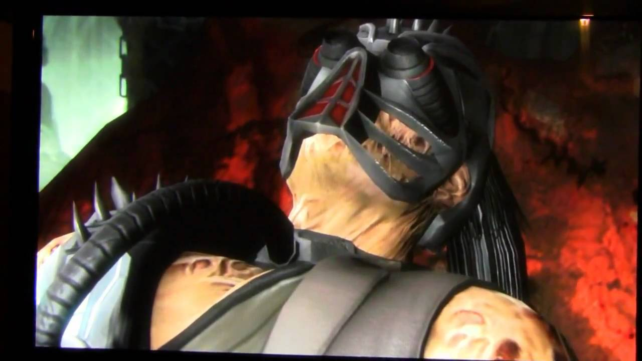 Kabal becomes Kabal! Mortal Kombat 9 MK9 - YouTube
