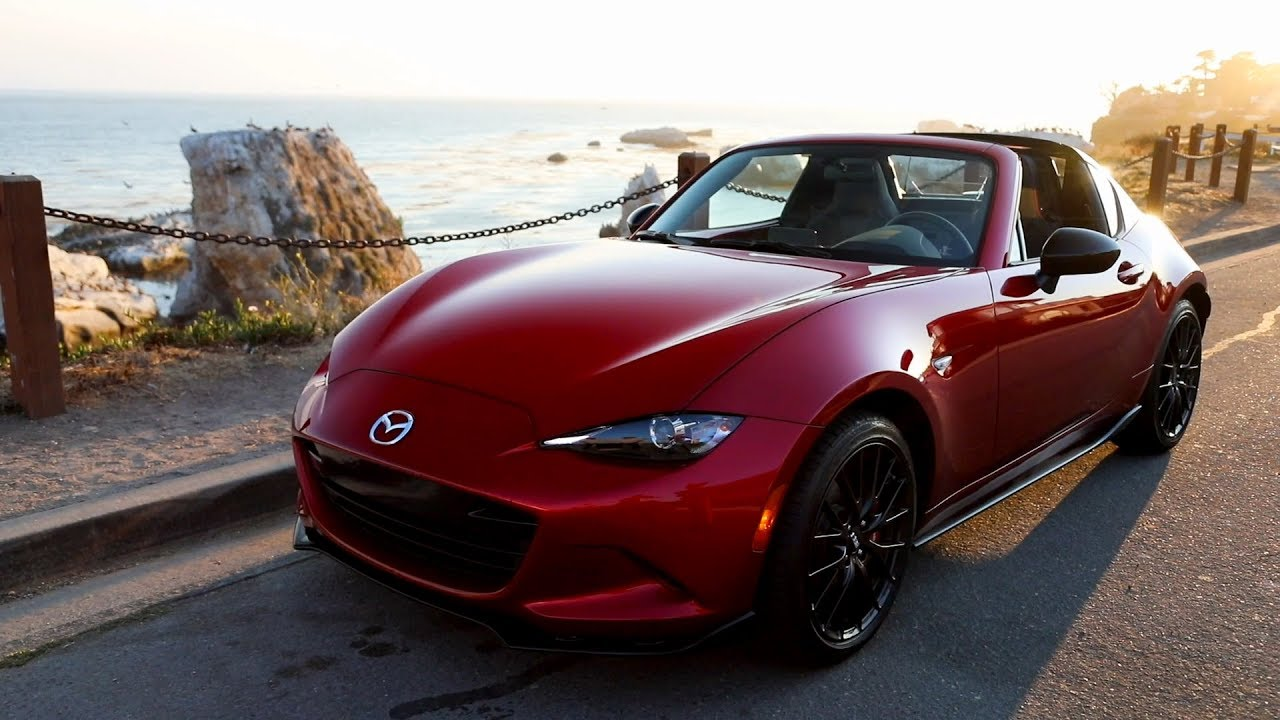 2019 mazda mx 5 rf soul red crystal metallic driving. Black Bedroom Furniture Sets. Home Design Ideas