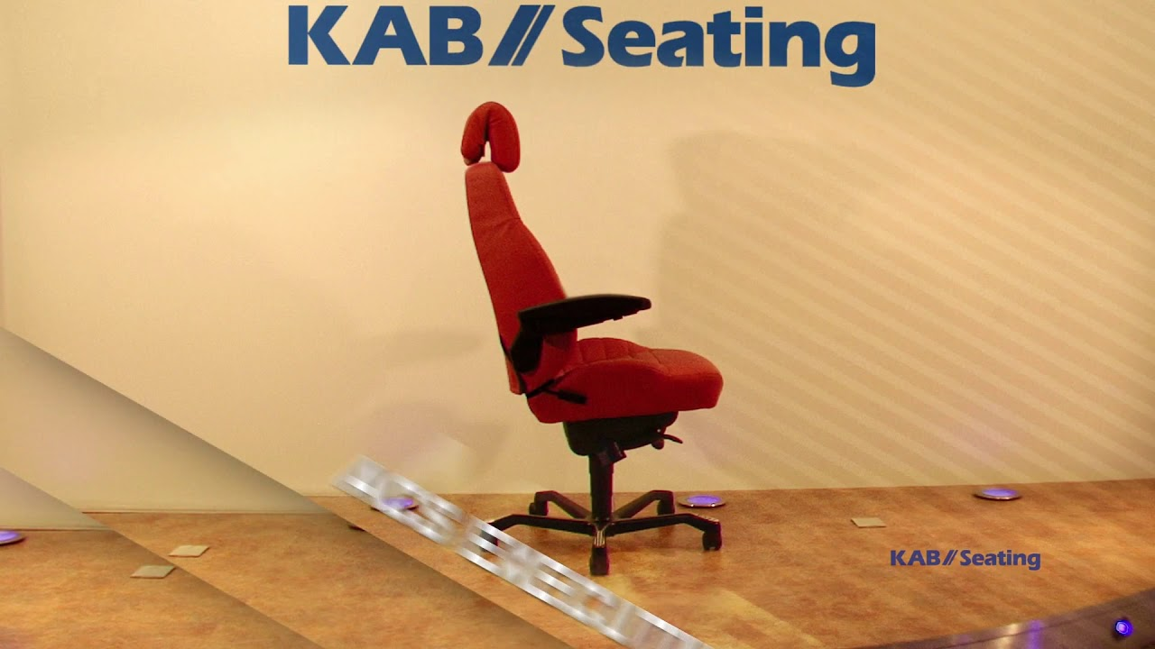 KAB Office Chair Range - YouTube