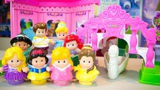 Fisher-Price Little People Disney Princess Garden Party Playset Cinderella Songs