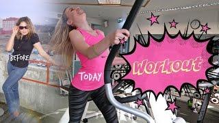 #64 Влог! Тренируемся вместе! Аня ДО и ПОСЛЕ похудения! 13 килограмм!