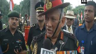 Terrorism and peace talks can't take place together: Army Chief