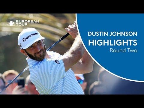 Dustin Johnson Highlights | Round 2 | 2018 Abu Dhabi HSBC Golf Championship