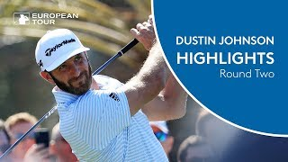 Dustin Johnson Highlights | Round 2 | 2018 Abu Dhabi HSBC Golf Championship