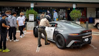Bored American Cops HATE Supercars Mega Compilation 4